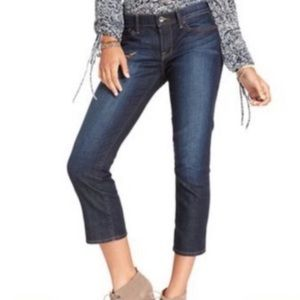 Lucky Brand Sweet N Straight Crop Jeans